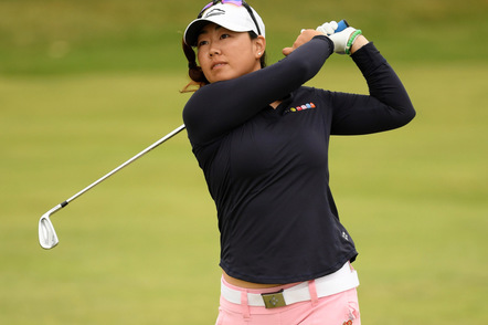 Pic mina harigae womens british open
